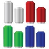 Latte di alluminio illustrazione di stock
