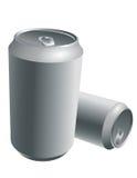 Latte di alluminio della bevanda Fotografia Stock