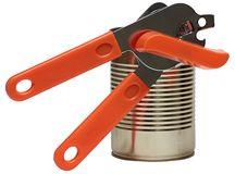 Latte di apertura di Tin Can And Key For isolate su cenni storici bianchi. Immagini Stock
