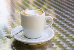 Latte di Caffe Immagine Stock