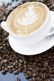 Latte di Caffe Immagine Stock