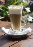 Latte di Caffe Fotografie Stock