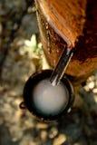 Latte di gomma Immagine Stock Libera da Diritti