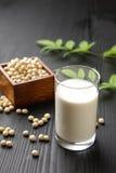 Latte di soia Fotografia Stock