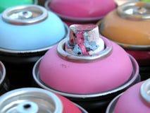 Latte di spruzzo Fotografia Stock