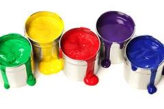 Latte di vernice immagine stock libera da diritti