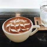Latte do café Imagens de Stock