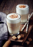 Latte do café imagem de stock