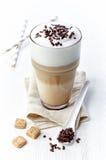 Latte do café foto de stock