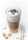 Latte do café foto de stock royalty free