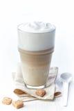 Latte do café fotografia de stock
