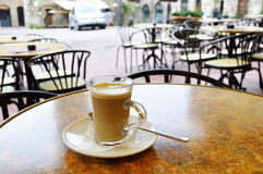 Latte do café Imagem de Stock Royalty Free