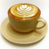 Latte do café Imagem de Stock Royalty Free