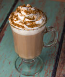 Latte drink Royalty Free Stock Images