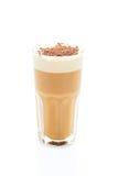 Latte in einem Glas Lizenzfreie Stockfotografie