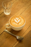 latte för kaffekopp Arkivbilder