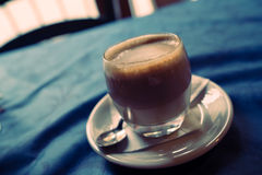 Latte in Florence faded Royalty Free Stock Photography