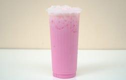 Latte freddo Fotografie Stock Libere da Diritti