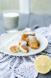 Latte fritto Fotografia Royalty Free