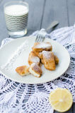 Latte fritto stock photography