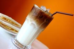 Latte ghiacciato Fotografia Stock
