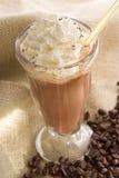 Latte ghiacciato del caffè Fotografie Stock Libere da Diritti