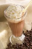 Latte glacé de café Photos libres de droits