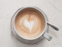 Latte kaffe Fotografering för Bildbyråer