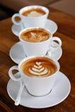 Latte kaffe Royaltyfria Bilder