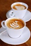 Latte kaffe Royaltyfri Foto