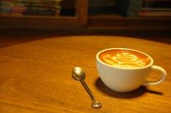 Latte kaffe Royaltyfria Foton