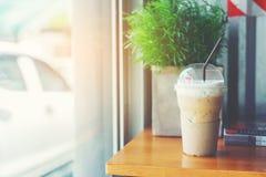 Latte kaffe Arkivbild