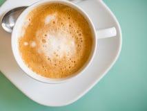 Latte Kaffee Stockfoto