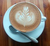 Latte kawa Zdjęcia Stock