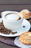 Latte kawowa Filiżanka Fotografia Stock