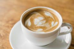 Latte kawy sztuka zdjęcia stock
