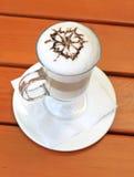 Latte macchiato Royalty Free Stock Photography