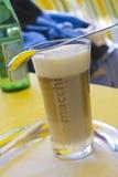 Latte macchiato Stock Image