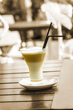 Latte macchiato Royalty Free Stock Photography