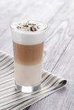 Latte macchiato Fotografia Stock