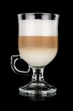 Latte Macchiato Imagem de Stock