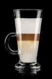 Latte Macchiato Royalty-vrije Stock Foto