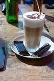 Latte Macchiato Royalty-vrije Stock Afbeeldingen