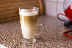 Latte Macchiato Photo libre de droits