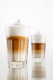 Latte Macchiato Foto de Stock Royalty Free