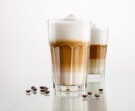 Latte Macchiato Fotografia de Stock Royalty Free