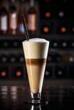 Latte Macchiato Obrazy Stock
