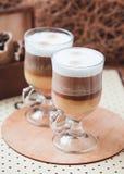Latte Macchiato Imagem de Stock Royalty Free