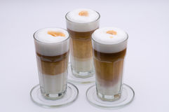 Latte Macchiato Images stock