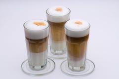 Latte Macchiato Stock Images